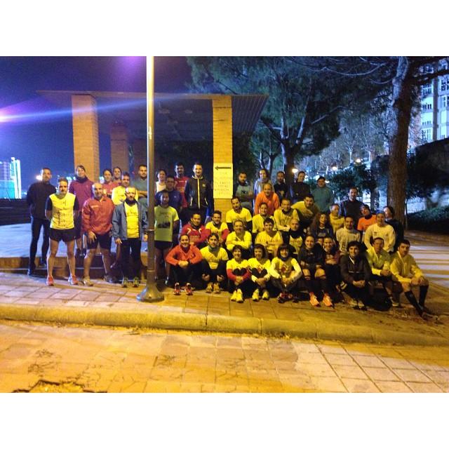 Quien dice frío!!!! #XIcircuitodivinapastora2015 #runnersvalencia #runwomen #mareaamarilla #mareaamarillavalencia #runvlc #loverun #loverunning #lovevalencia #photoooftheday  #valenciagram #valenciarunning #runningvalencia #sports #entrenamiento #martes #jueves #juntos #diversion #unete #running #runeo #sufrimiento #esfuerzo #recompensa #sudor #10kvalencia2015 #15kvalencia2015 #maratonvalencia2015 #mediamaratonvalencia2015