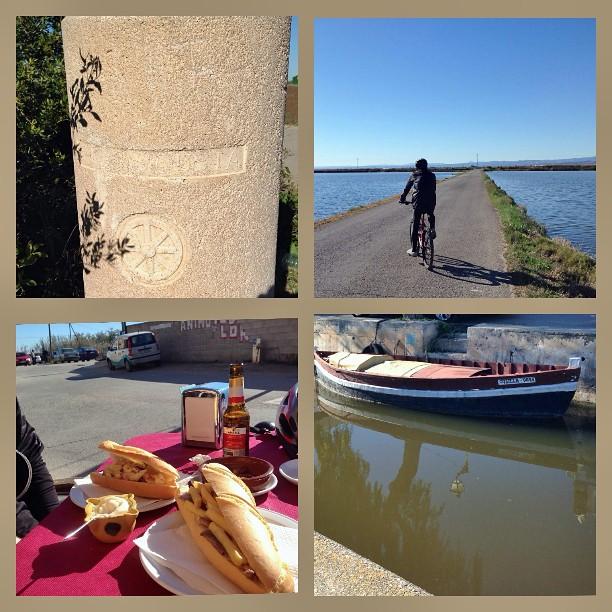 #SlowBike i #esmorzaret. Ruta #ViaAugusta #ParcNatural de l'#Albufera #ElPalmar #dominguismoextremo #esmorzar #amazing #instafood #loveValencia