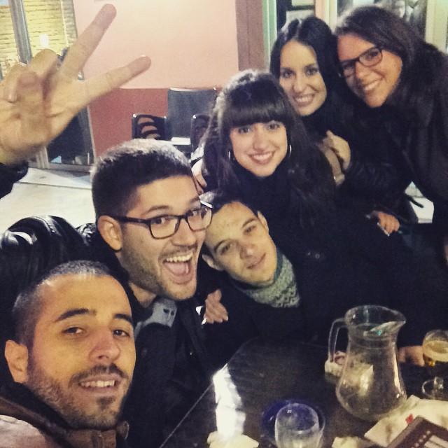 Reencuentros que molan 2  #friends  #instafriend #instafriends #tagstagramers #friendship #bestfriends #cute #lovevalencia #tagsta_people  #myfriends #bf #instadaily #mates #mate #buddy #amigos