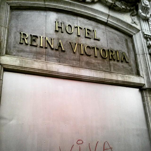 Hotel de #valencia mitico cerrado #lovevalencia