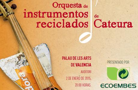 Orquesta de instrumentos reciclados de Cateura Ecoembes