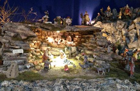 belén de las religiosas San José de la Montaña