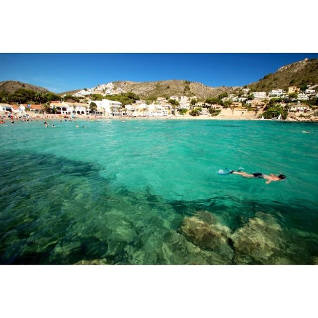 Playa de portet #moraira ????????????