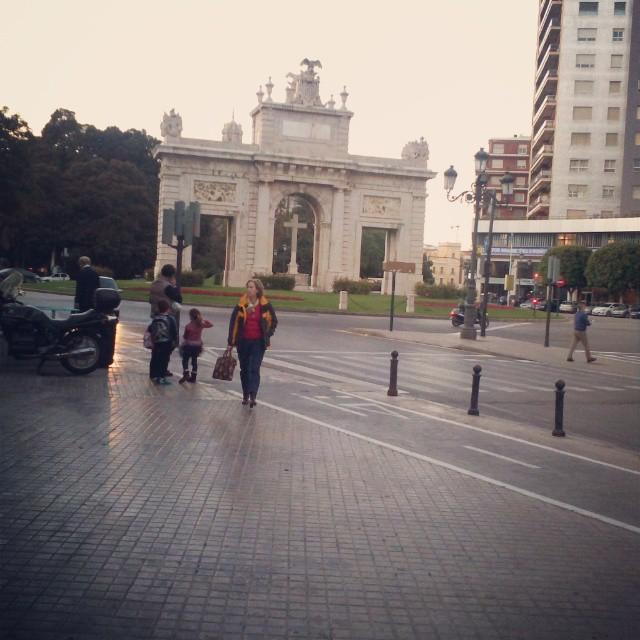 #valencia14 #monumento#arcotriunfo#valenciaenamora#architecturelovers#architectures #instagood#estaes_valencia#arco#city#cities#lovevalencia #archilovers