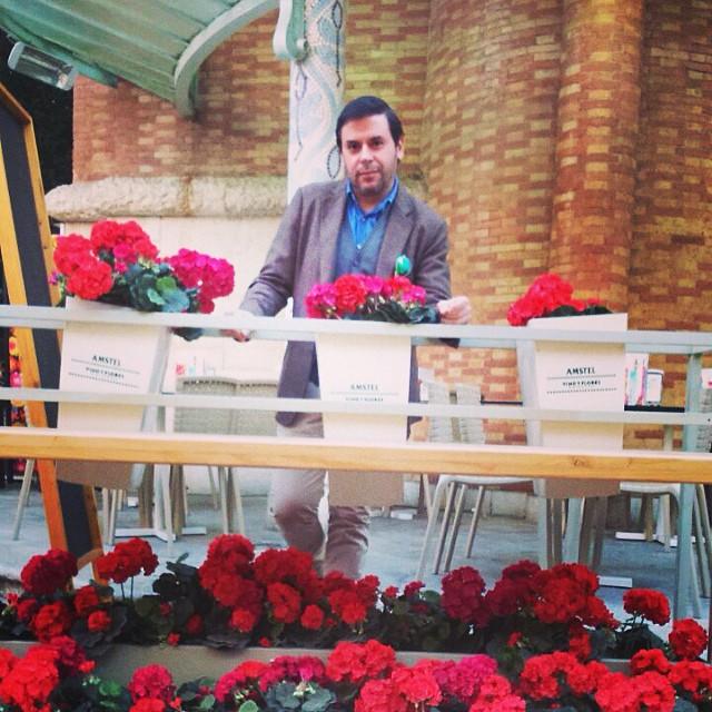 #enjoying #valencia #lovevlc #mercadodecolon #lovevalencia #january #flowers #warm