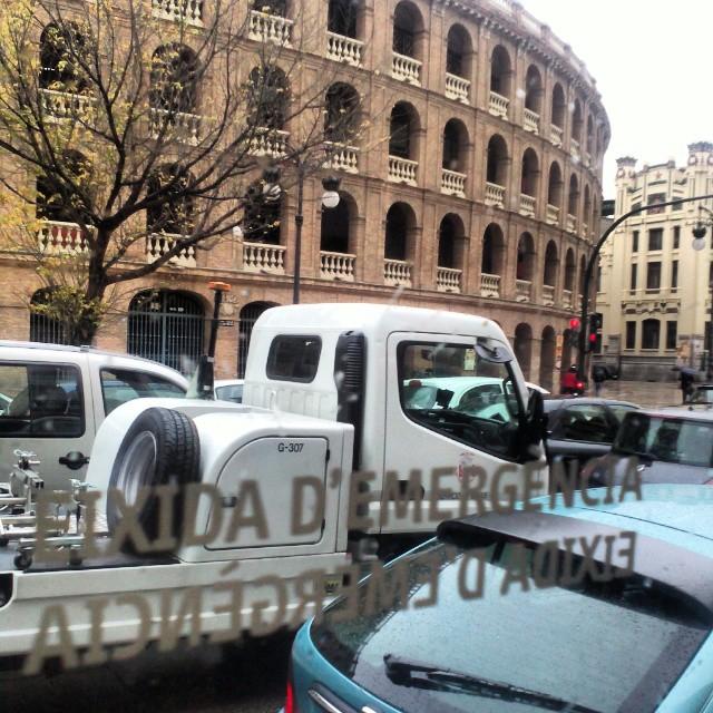 #valencia #valenciagram #valenciaenamora #lovevalencia#toros #estaes_universal #estaes_valencia #ontdekvalencia #plazatoros#urban #city#bus#desdebus#instgram #instagood