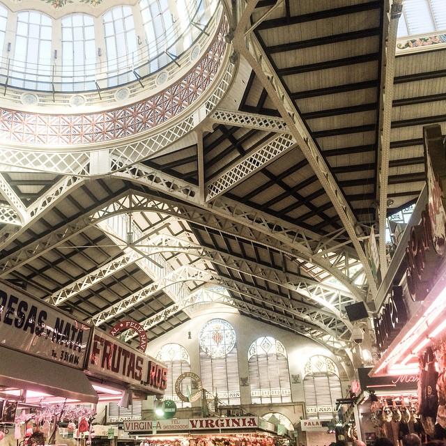 #valencia #mercatcentral #mercado #mercadovalencia