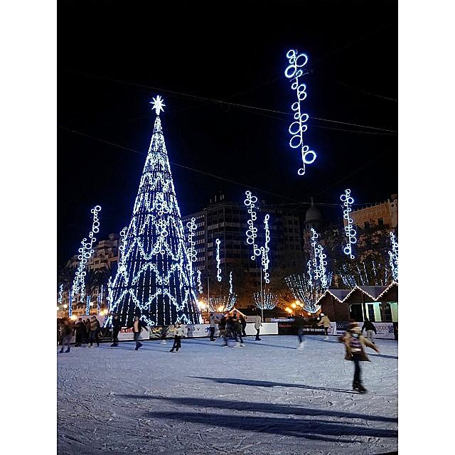 Vamos patinar! Plaza del Ayuntamiento - Valencia