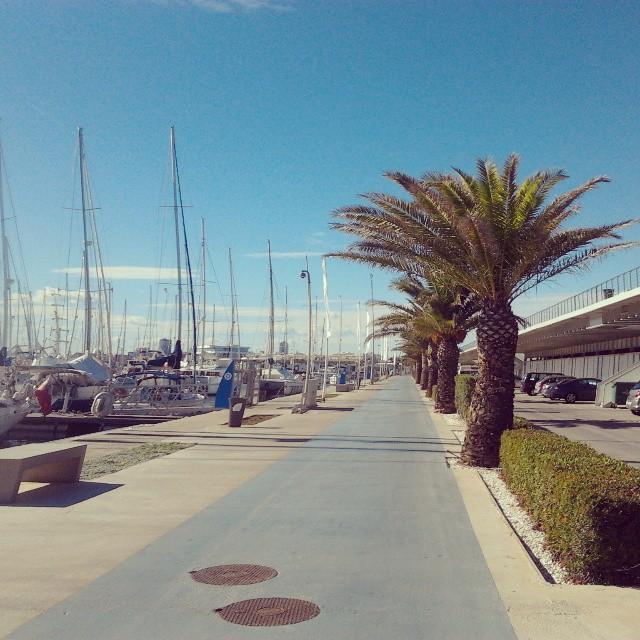 patrullando x la ciudad! #portdevalència #valència #marinareal