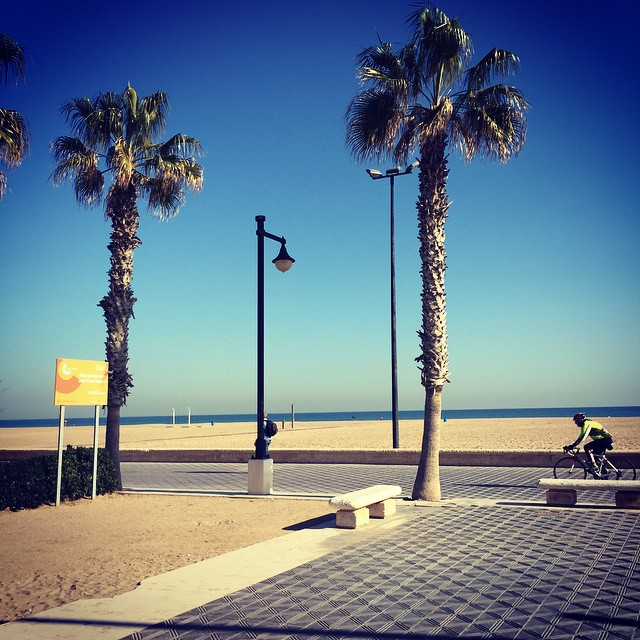 So thankful for days like this in January. #loveValencia