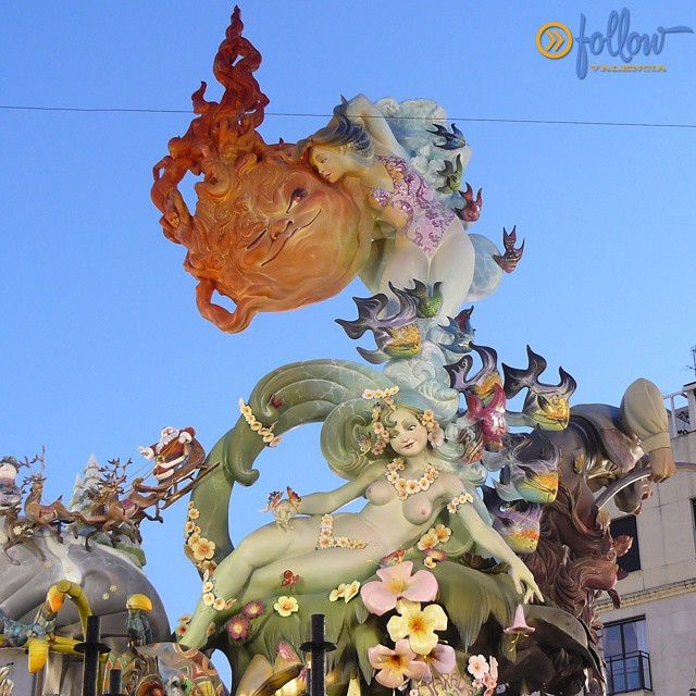 The #Fallas are composed of scultures called ninots and usually are made of papier mache and wood. Discover the festival of Fallas in #Valencia!! followvalencia.com/fallas2015