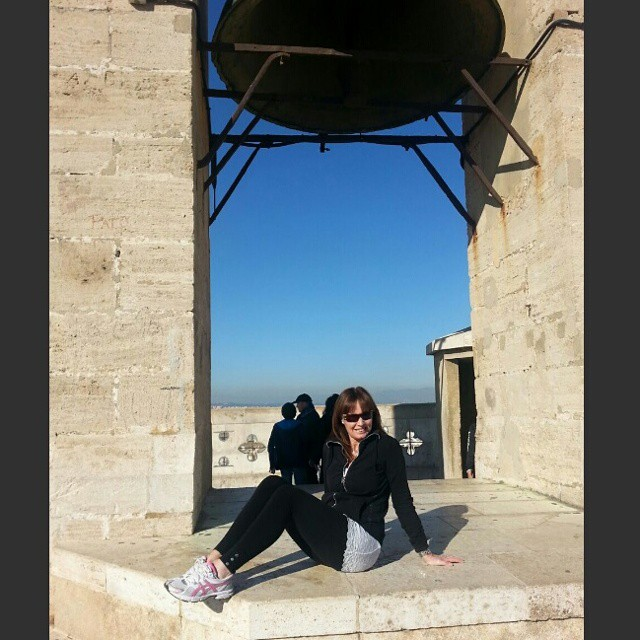 After 207 steps ... a little rest! ???????? #spagna #spain #valencia #holiday #2015 #fun #happy #smile #me #friends #sol #lovevalencia #bluesky #italian #girl #lovetravel #beautifulday