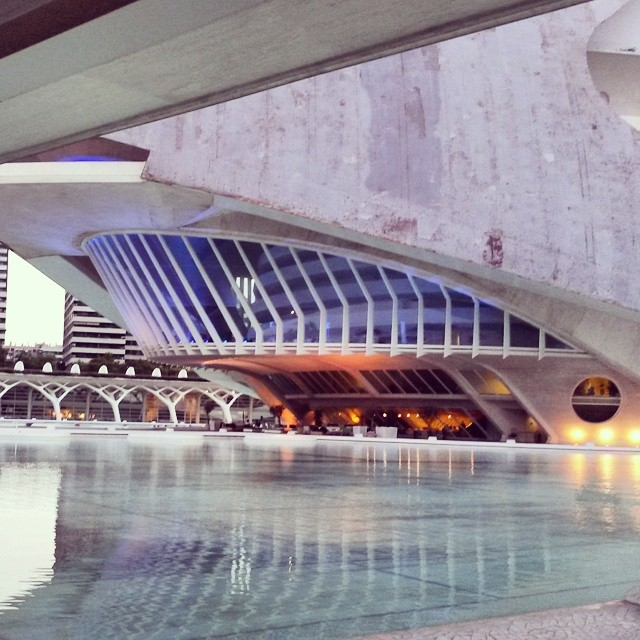 The Opera House in #Valencia #operahouse #nakedmadrid  #lovespain #lovevalencia #españa #spain