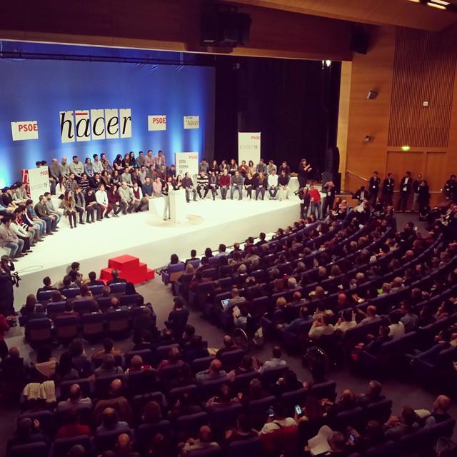 Comença la Conferència Autonòmica del @PSOE a València. Companys i companyes, representants socialistes de tota Espanya. Debat, encontre, reflexió, participació. #OtraFormaDeHacer #PSPV #PSOE #Valencia #València #PaísValencià #ConferenciaPSOE #socialista #socialistes #socialismo #welovevalencia #lovevalencia #XimoPresident