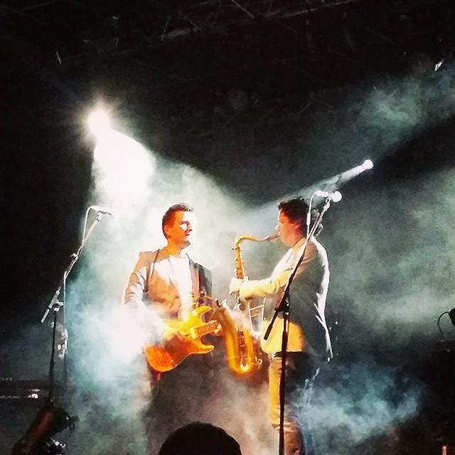 "Oscar Rosende, Javi Garcia. ""Brothers in Band"" ayer en la sala Fussion Massanassa."