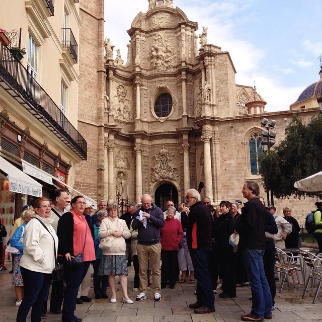 Hoy hay mucho #turista en la ciudad! #Valencia #lovevalencia