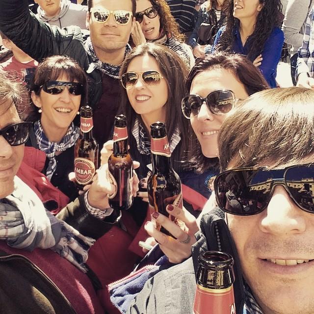 #selfie #fallero #mascleta #fallas #valencia #lovevalencia #spain #beer #cerveza