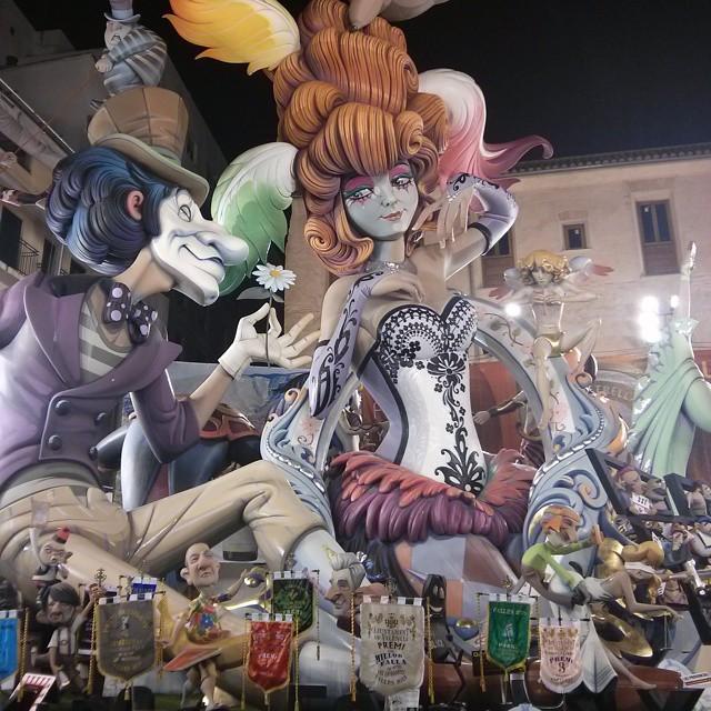 Falla del Pilar. 1er premio de este año. #instavalencia#insta_international#lovevalencia#loves_valencia#loves_spain#lv_fallas2015#turismospain