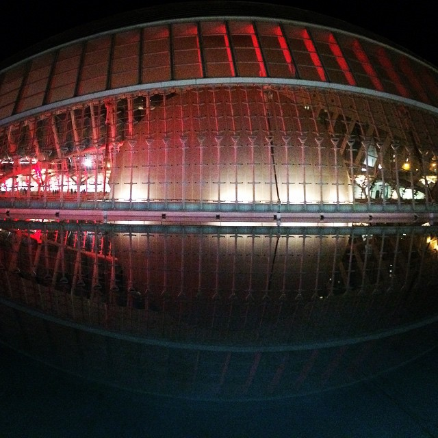I LOVE VALENCIA #valencia #comunidadvalenciana #ciudadartesyciencias #amazing #lights #picoftheday #photooftheday #amazing #cool #cac #instapic #instagram #instaphoto #instaanimal #lovevalencia #ilovevalencia #night #run #runner #running #follow #followme #love #reflejos