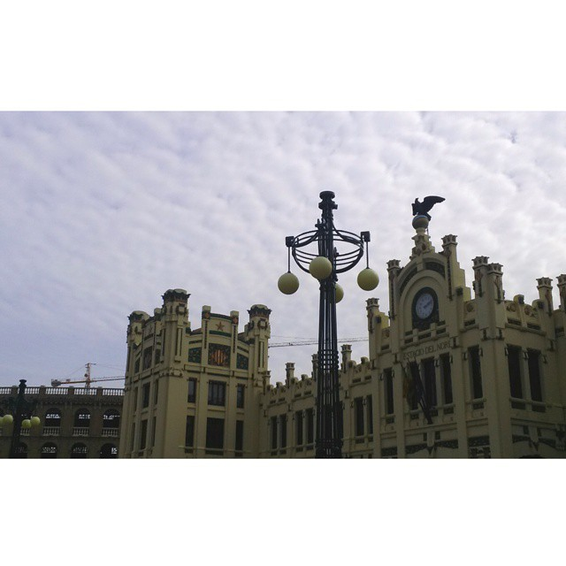 #valencia #lovevalencia #estaciondelnorte #beautiful #landscape #Architecture #Cielo #sky #skylovers