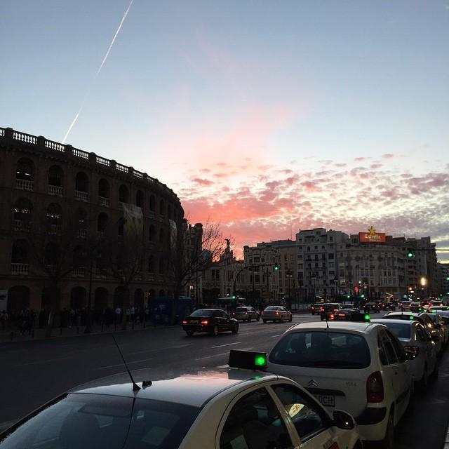 Beautiful evening in Valencia. #loveValencia