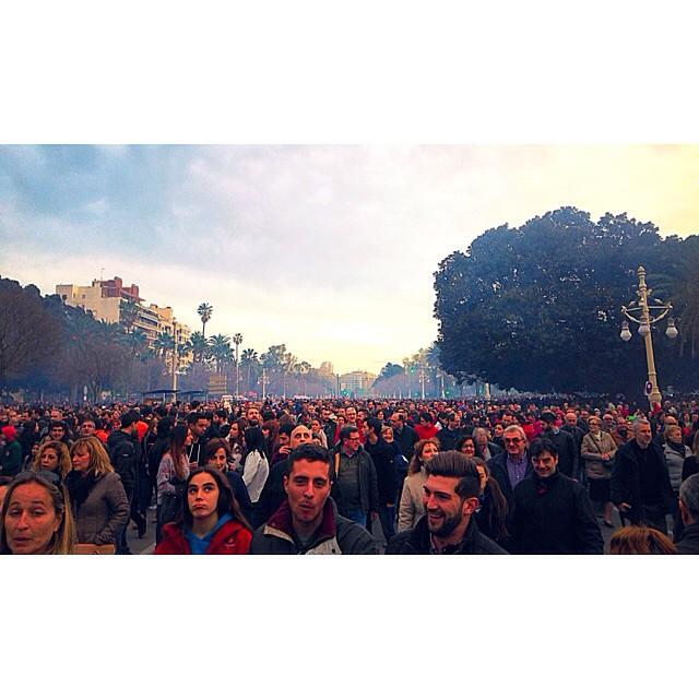 ????Esto empieza???? #fallas #mascletà #valencia #lovevalencia #caloret #Ritaveteatucasa #gracias