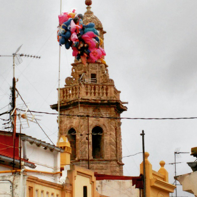Adiós globos!!! #valenciaenfallas #valencia #fallas #lovevalencia #globos