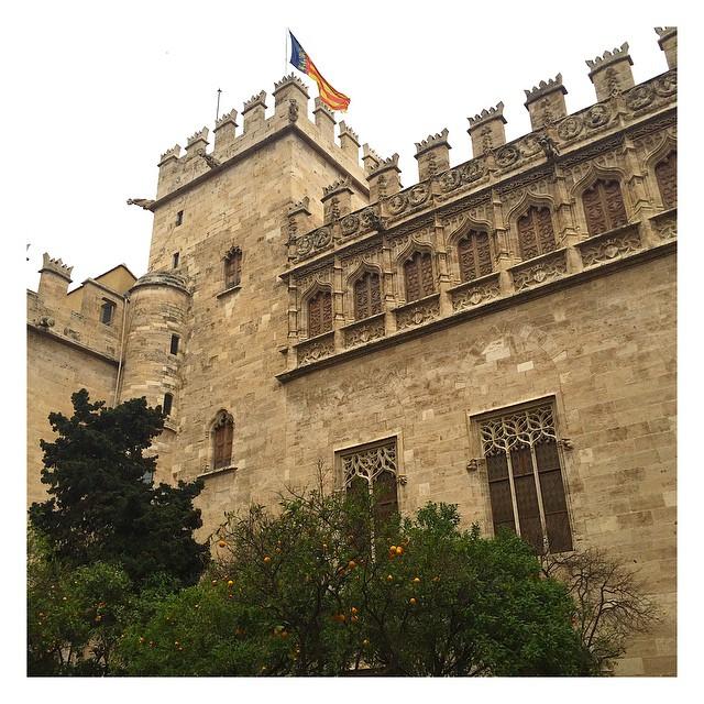 Construcción en estilo gótico de 1482 #historia #unesco #valencia #españa