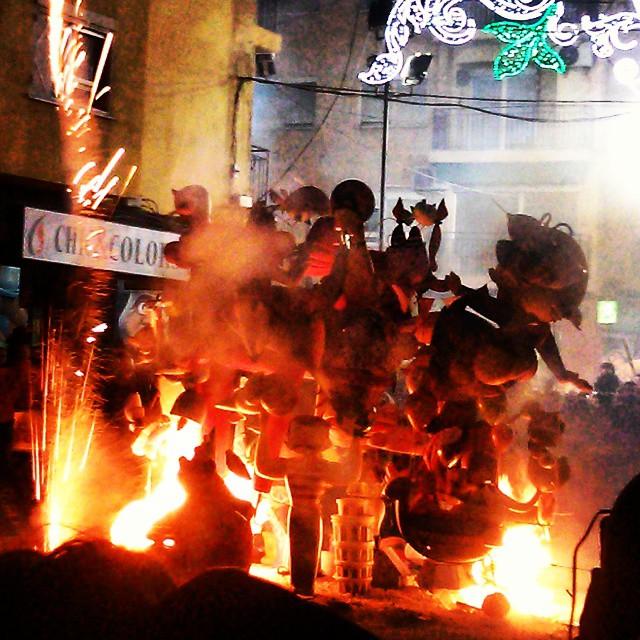 La #cremá infantil #valenciaenamora #lovevalencia #fallas2015 #fallas