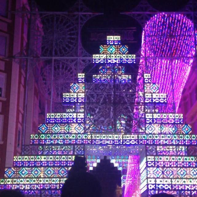 Encendido de luces #Fallas #Valencia #Fallas2015 #LoveValencia #Caloret