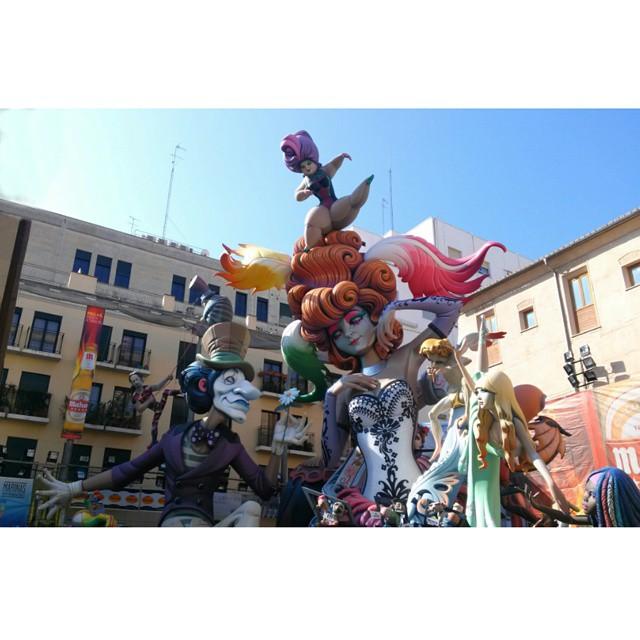 #valenciaenfallas #plazadelpilar #Paseando #arte #artistas #beautiful #espectacular #lovevalencia