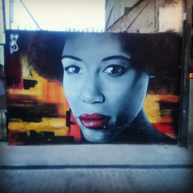 Beautiful street art in Valencia #streetart #lovevalencia