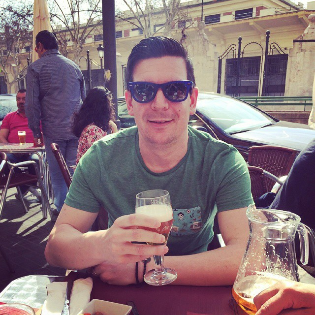 #cerveza #beer #birra #lovevalencia #spain #cool #amazing #guy #summertime #solete #cool #bronceado #fallas #caloret