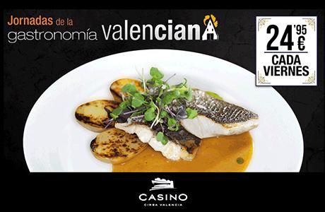 Casino Cirsa Jornadas de la Gastronomía Valenciana