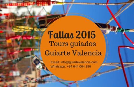 Fallas 2015 Tours guiados Guiarte Valencia