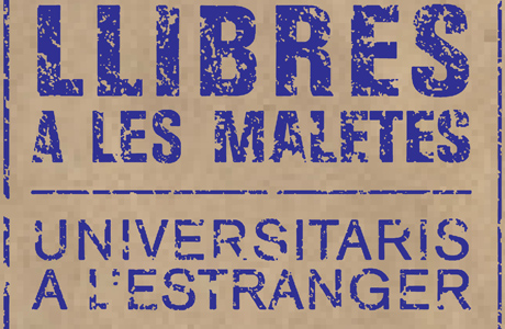 Libros en las maletas en La Nau