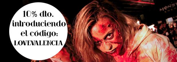Survival-Zombie-El-Campello-28-de-marzo 10 descuento código lovevalencia