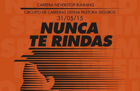 Carrera Never Stop Runnign Valencia