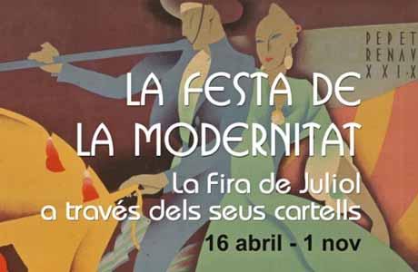 Exposición La Festa de la Modernitat en el Museo de Historia