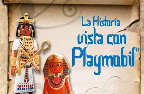 exposición La Historia Vista con Playmobil