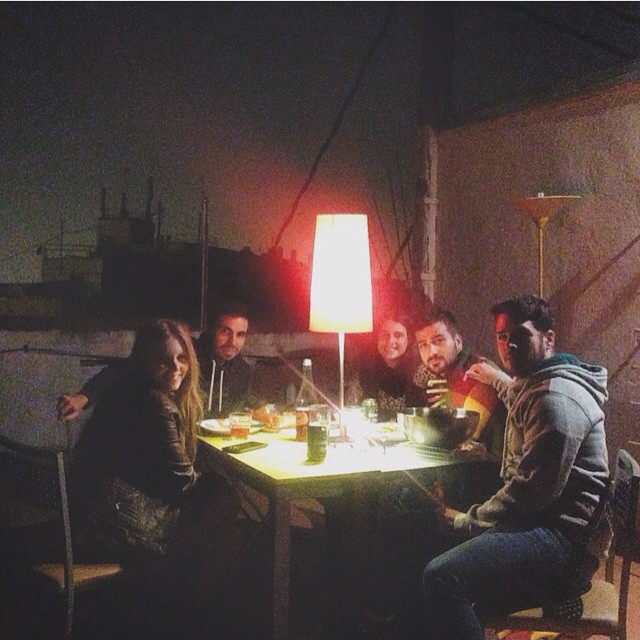 Cenita en el terrao de @jennborrull ???????????????????????????? #diner #cena #friends #night #attic #happy #Valencia #loveValencia #lovecity