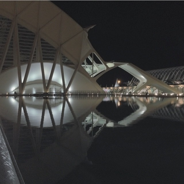 ????#Valencia #city #loveValencia #night #igers #LaCiudaddelasartesylasciencias