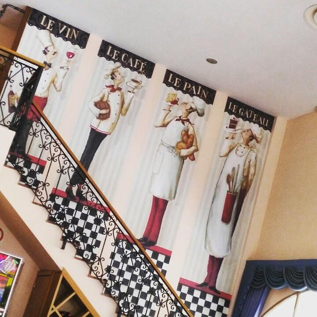 #ribarroja #Bar #levin #lecafe #lepain #legateau #vino #cafe #pan #tarta #Mural #arte #art  #escaleras #escales #Stairs #valenciagram #valencia #valenciagrafias #instaphoto #loveart #lovevalencia