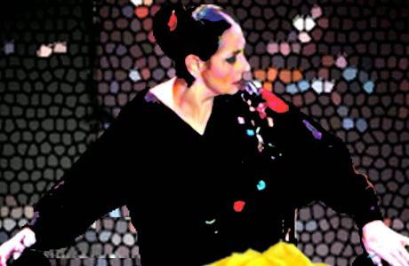 Julia Grecos en el Tetaro Talia