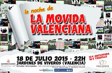 La noche de la movida valenciana