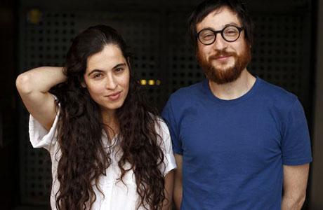 Silvia Pérez y Raúl Fernández en el Teatro Olympia