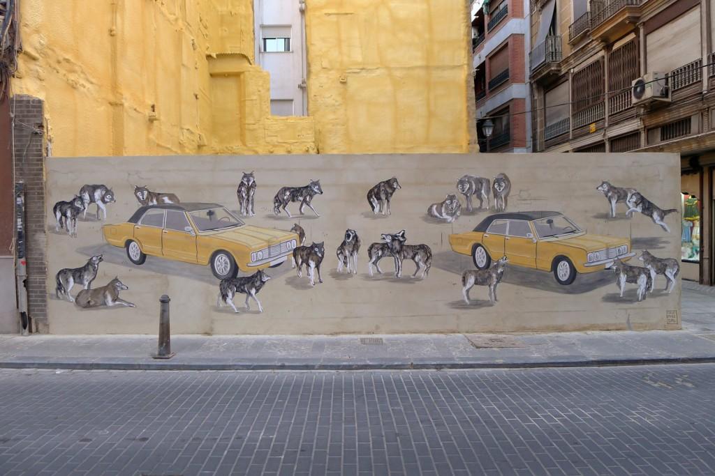 arte urbano Hyro y Scif Valencia