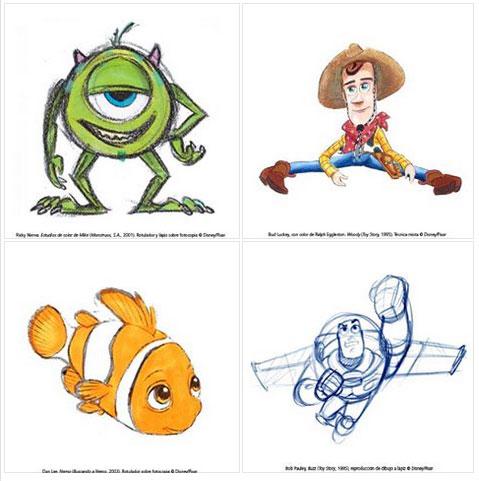 exposición Pixar Valencia