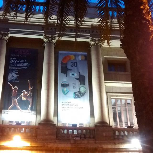 Closing ceremony @cinemajove  #nofilters #igersvalencia #igers #igersacademia #poster #somosinstagramers #teatroprincipal #valencia #valenciaenamora #lovevalencia #cine #cinema #filmmaking