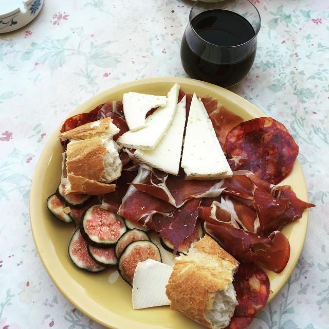 Desayuno valenciano ???? #LoveValencia #IbericoBellota #Jabuco #GoodTimes #GoodFood #LeonsTakeEurope